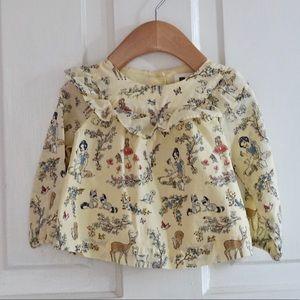 Baby Gap Disney Snow White blouse